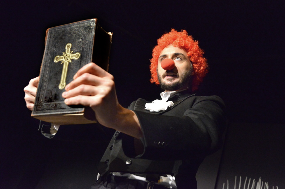 Kieler Theater Die Komödianten: Ivan Dentler in Ansichten eines Clowns